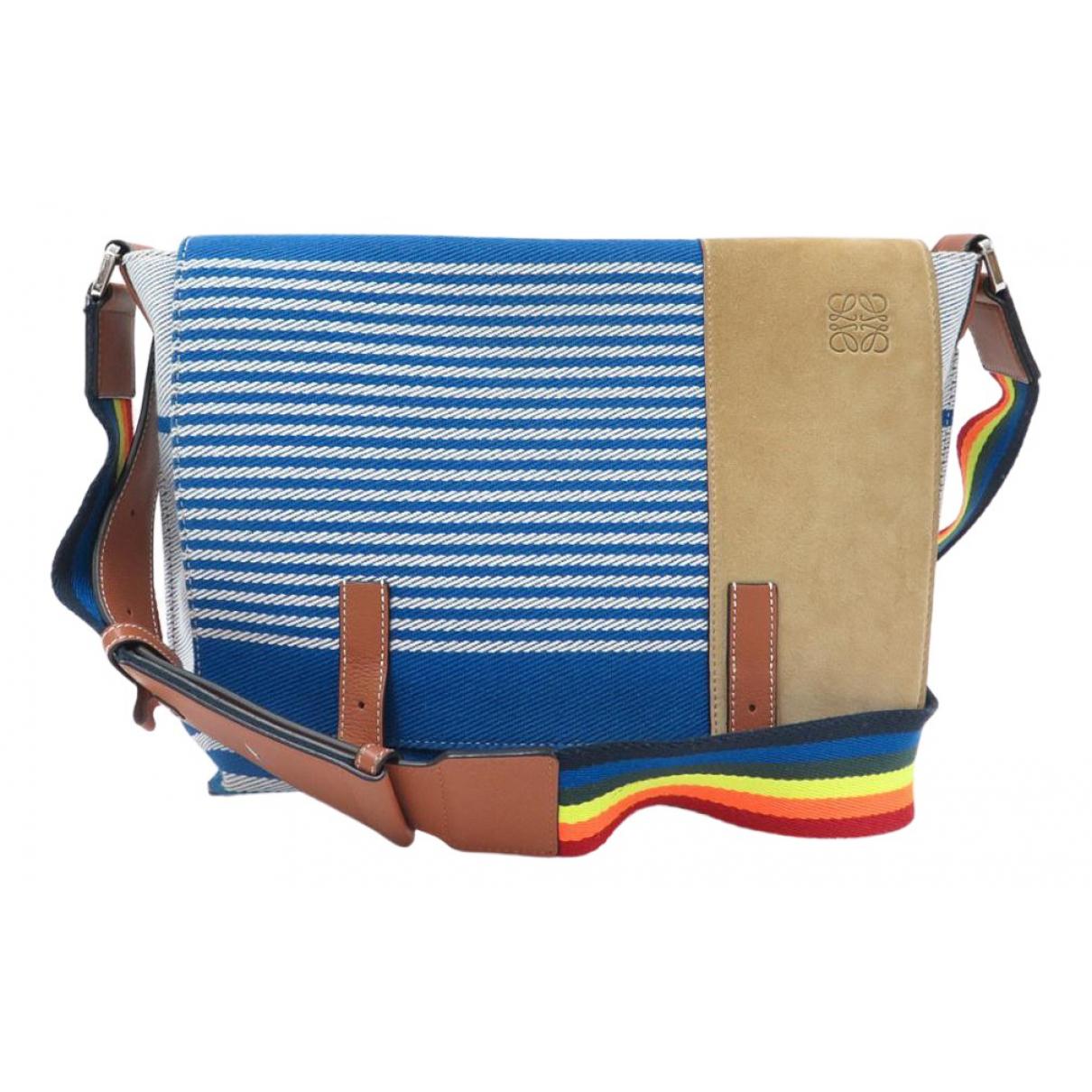 Loewe \N Handtasche in  Bunt Baumwolle