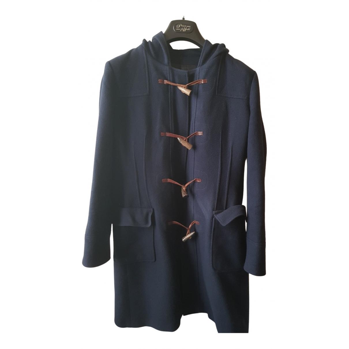 Ballantyne - Manteau   pour homme en laine - bleu