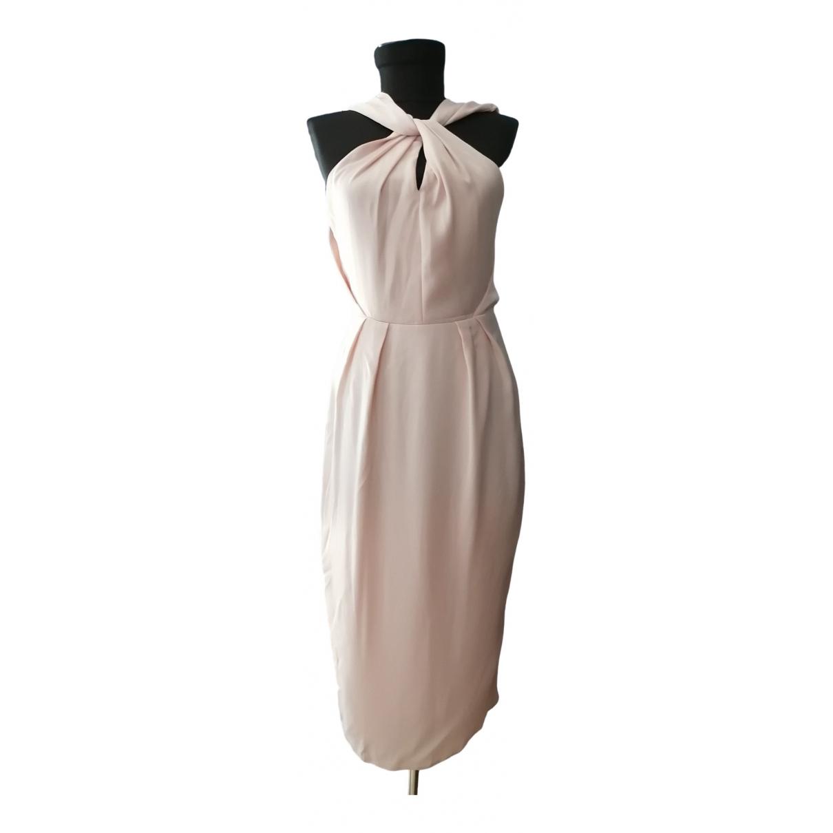 Asos \N Kleid in  Rosa Polyester
