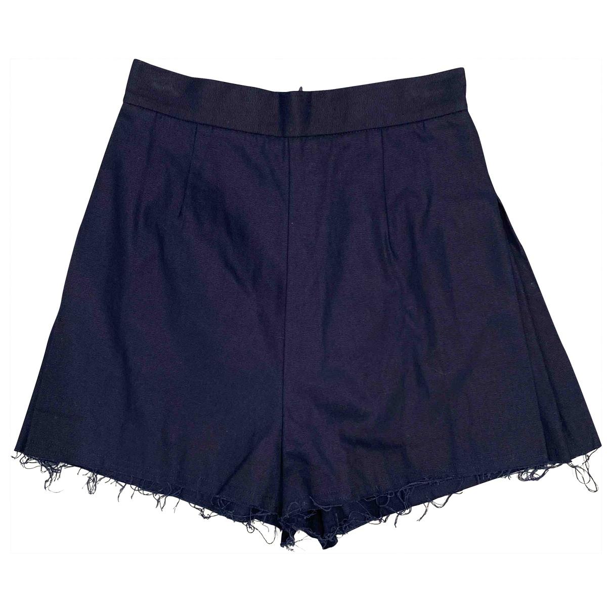 C/meo \N Shorts in  Blau Baumwolle