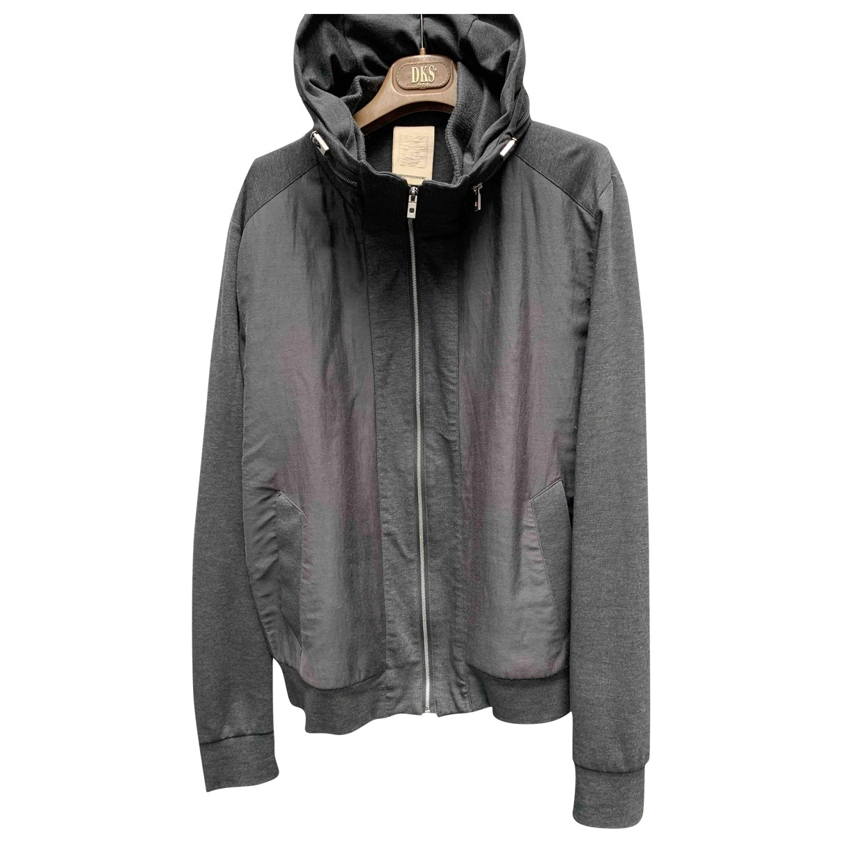 Wooyoungmi \N Anthracite Cotton jacket  for Men 48 FR
