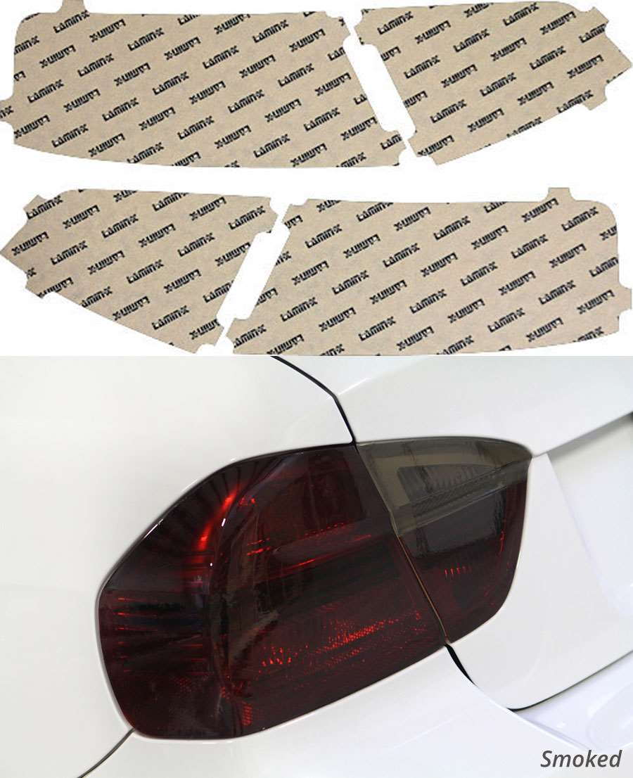 Audi A5 13-20 Smoked Tail Light Covers Lamin-X A234S