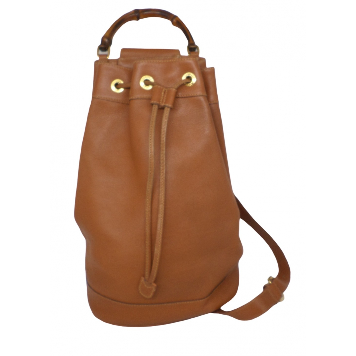 Gucci Bamboo Brown Leather backpack for Women \N