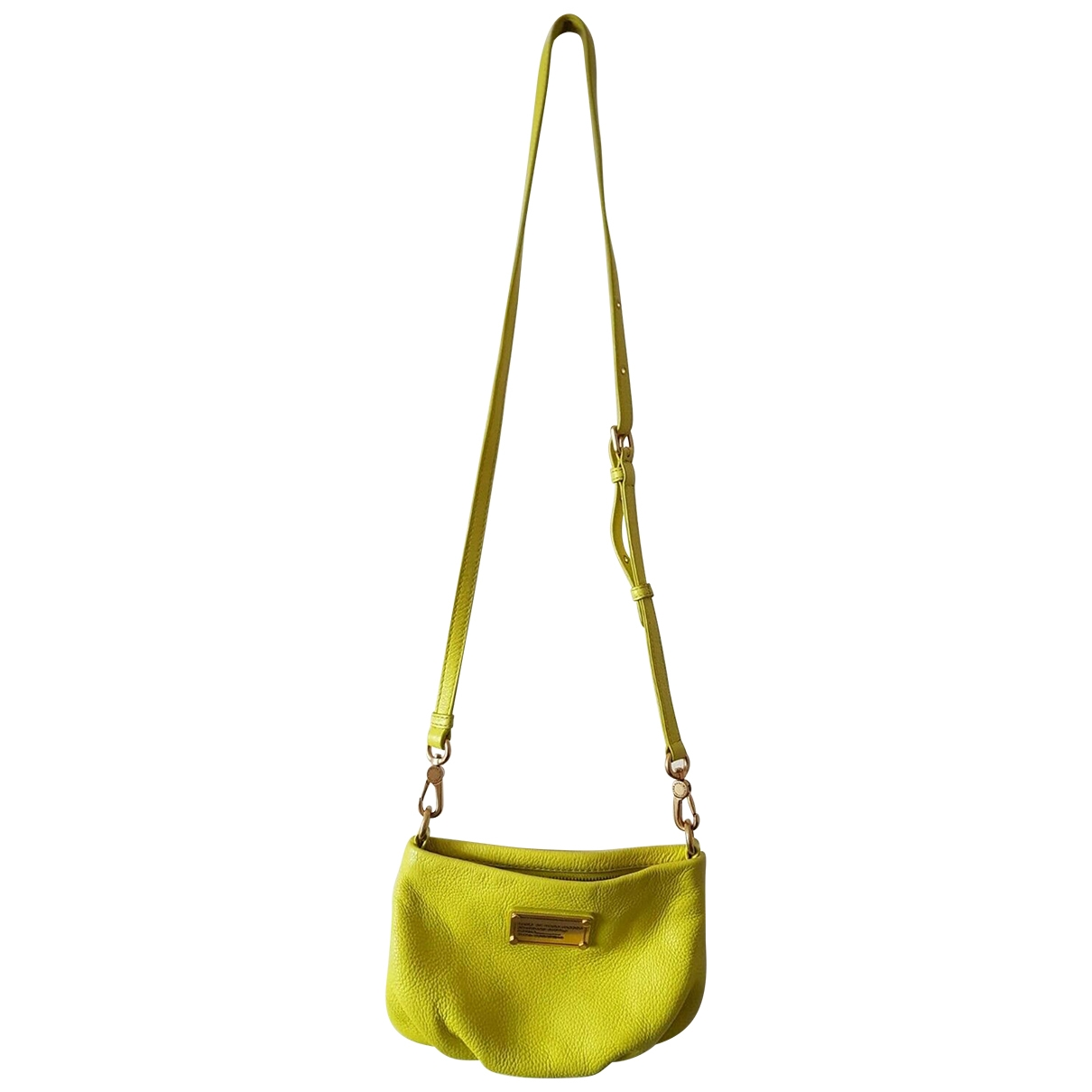 Marc By Marc Jacobs Classic Q Yellow Leather handbag for Women \N