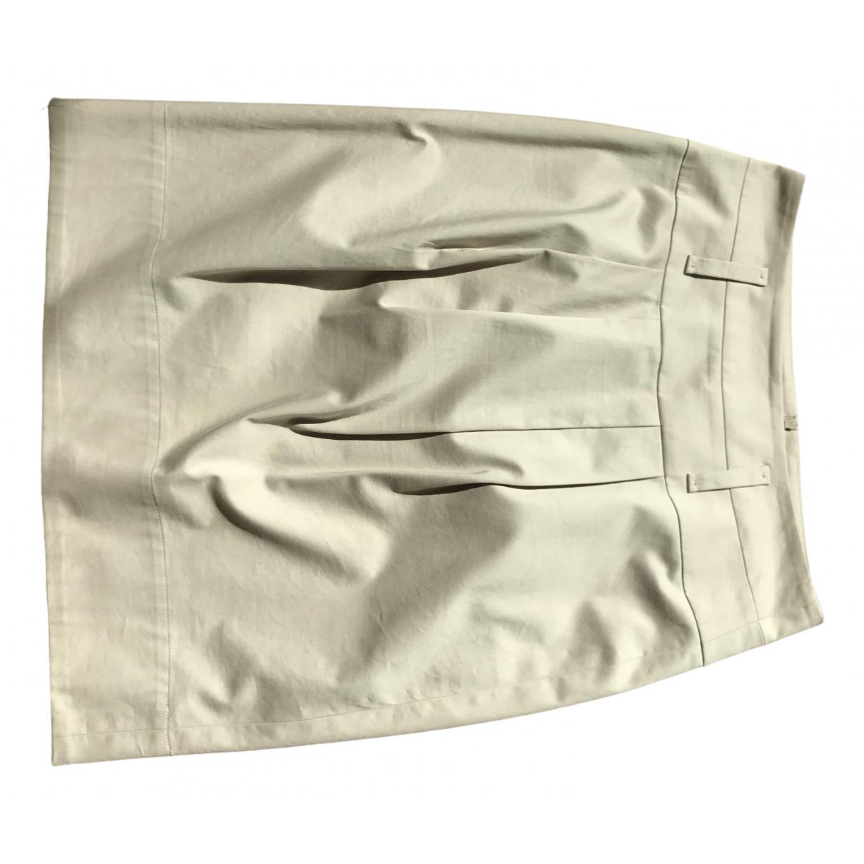 Hugo Boss - Jupe   pour femme en coton - beige