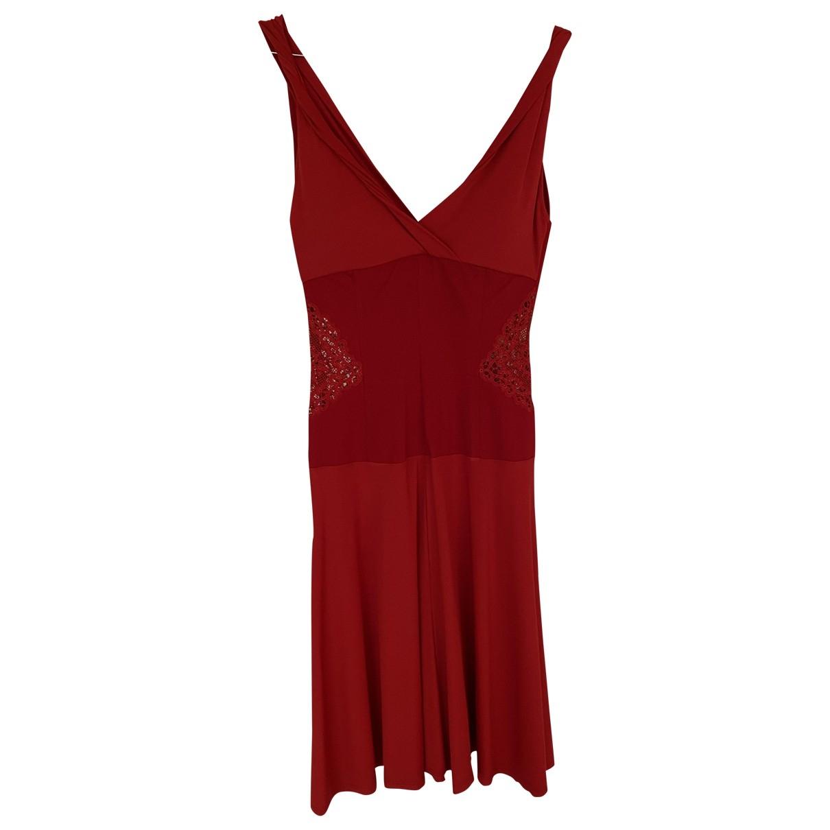 La Perla \N Kleid in  Rot Viskose