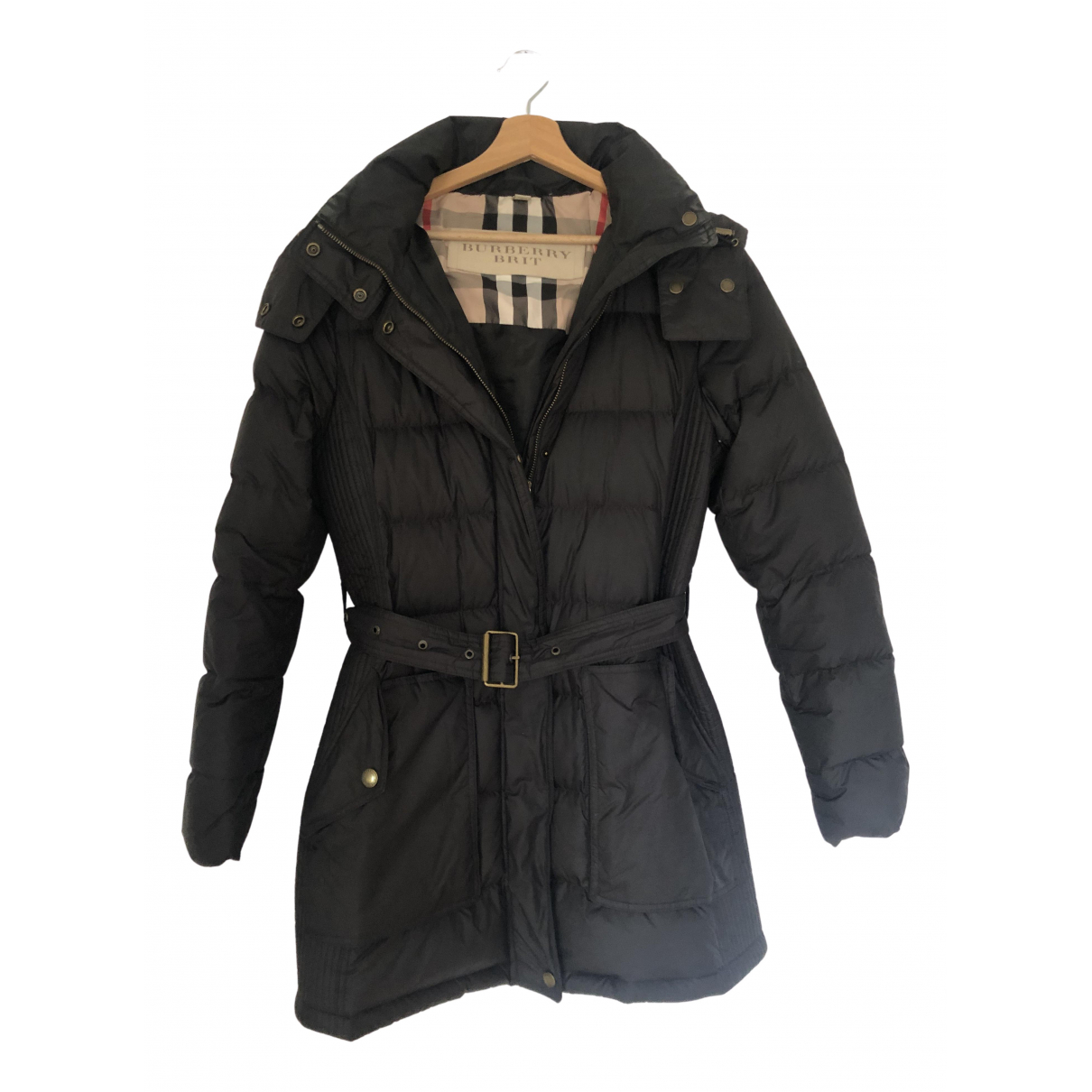 Burberry N Black coat for Women 38 FR