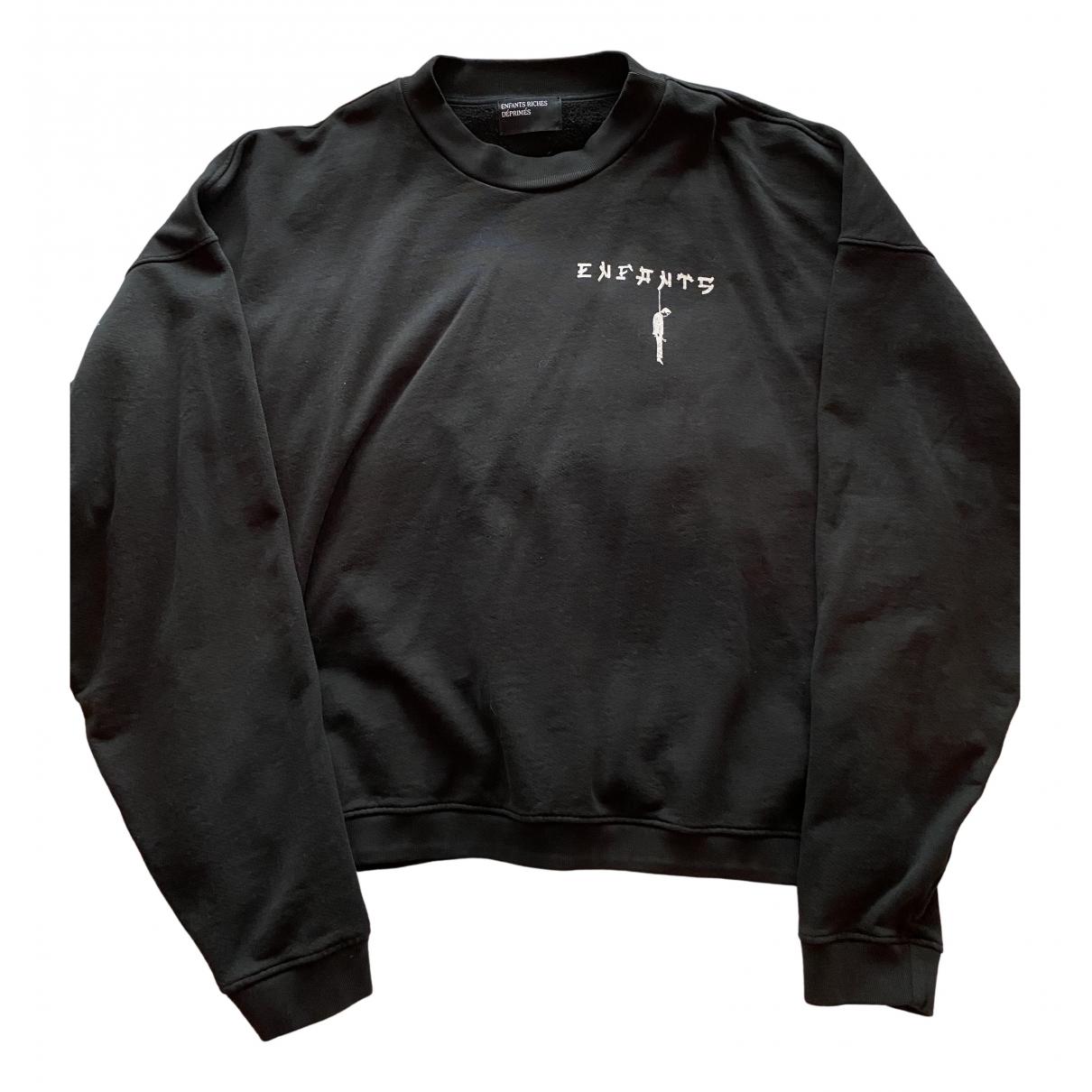 Enfants Riches Deprimes \N Pullover.Westen.Sweatshirts  in  Schwarz Baumwolle
