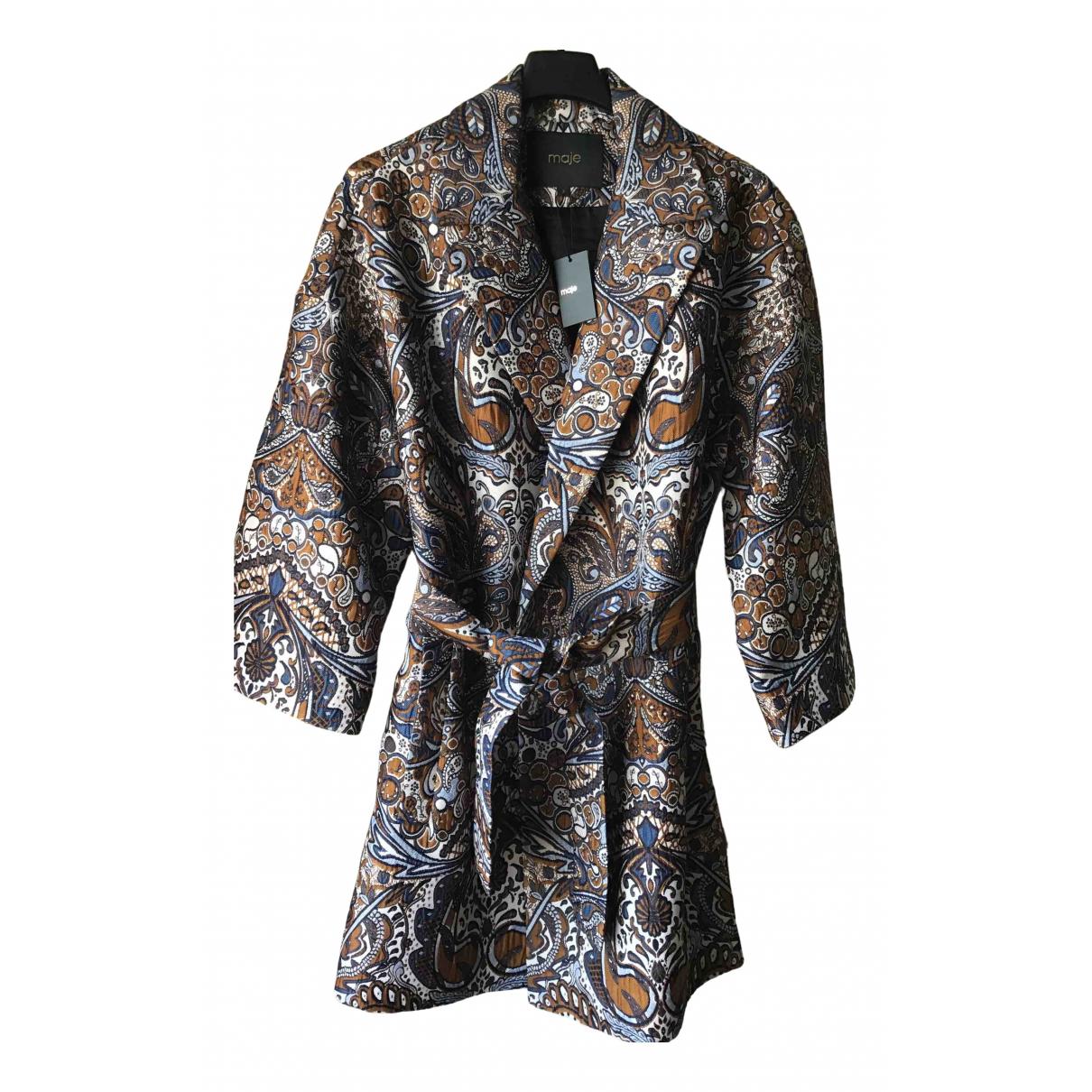 Maje \N Multicolour coat for Women 38 FR