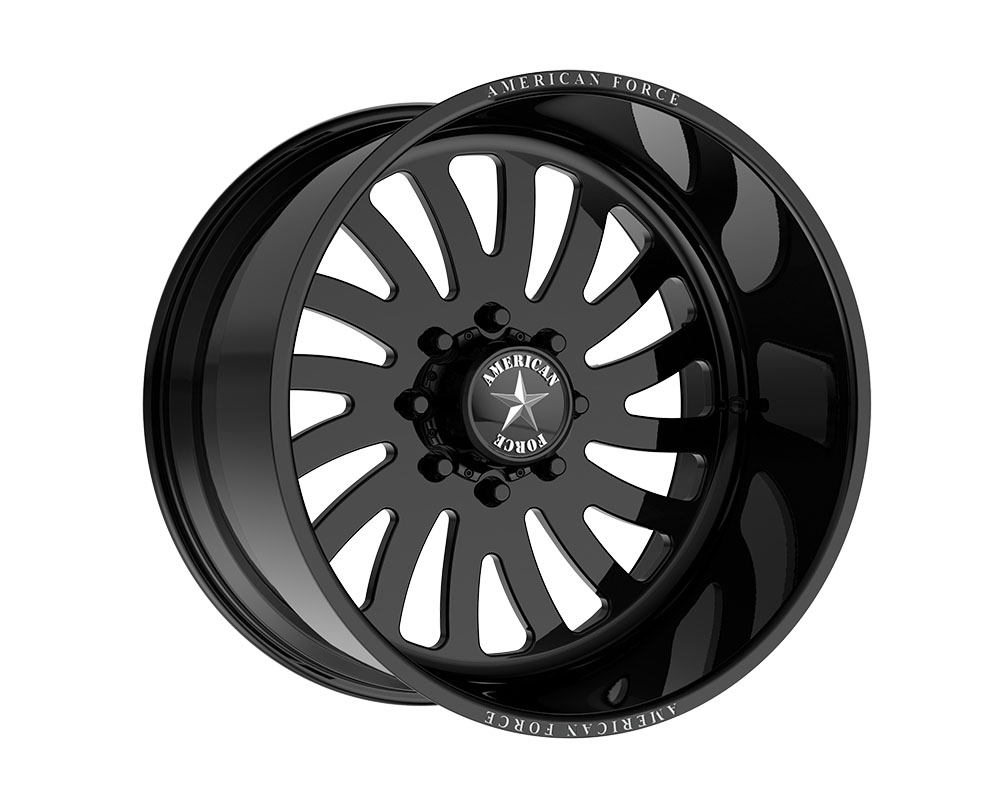 American Force AFTK74RR78-2-20 AFW 74 Octane SS Wheel 22.00x14.00 6x139.70 -73mm Gloss Black - Right Directional