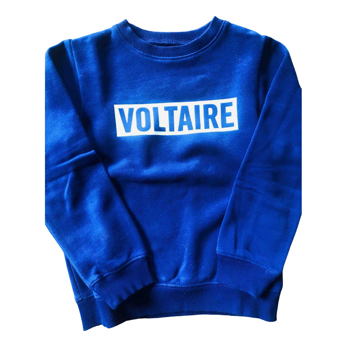 Zadig & Voltaire N Blue Cotton Knitwear for Kids 6 years - up to 114cm FR