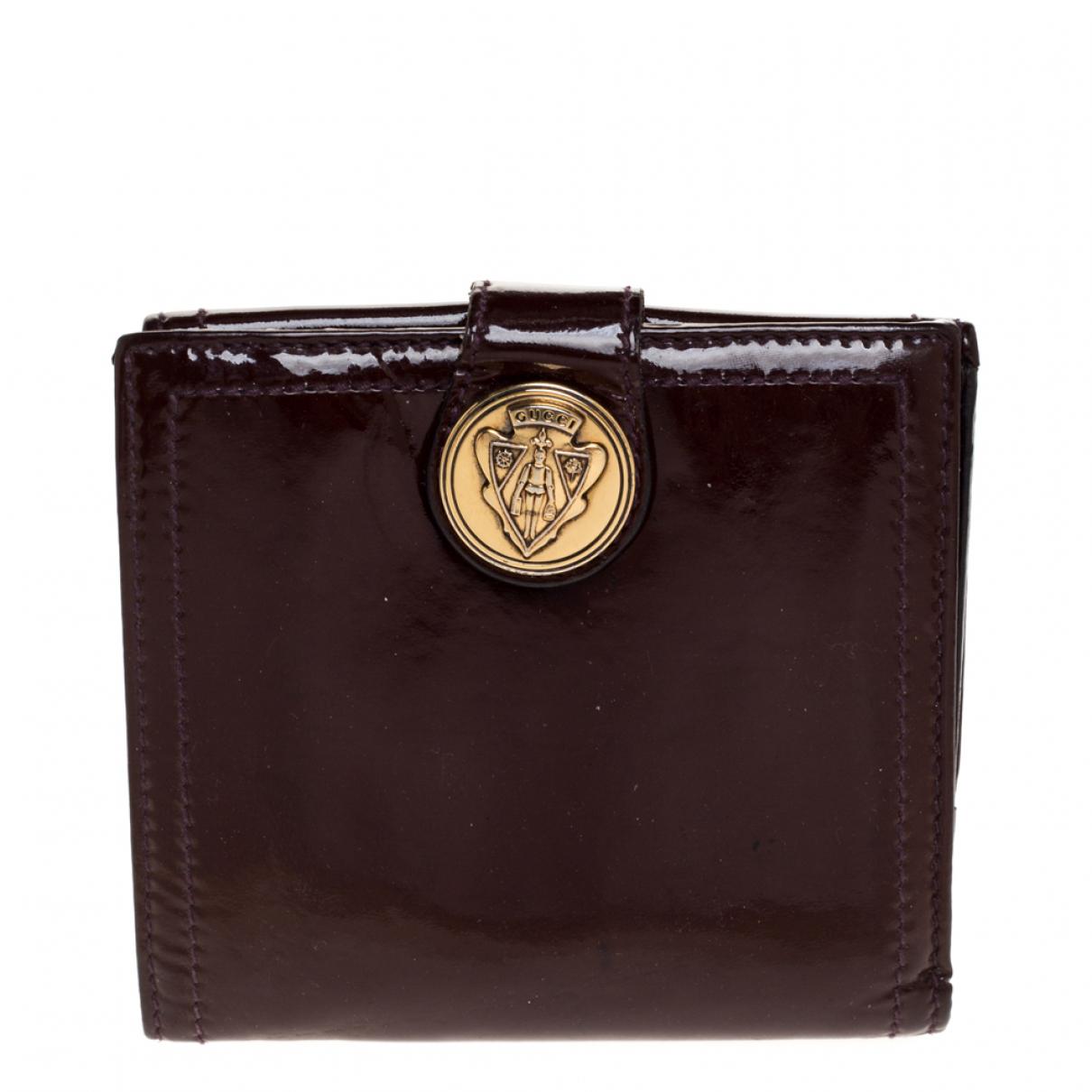 Gucci - Portefeuille   pour femme en autre - marron