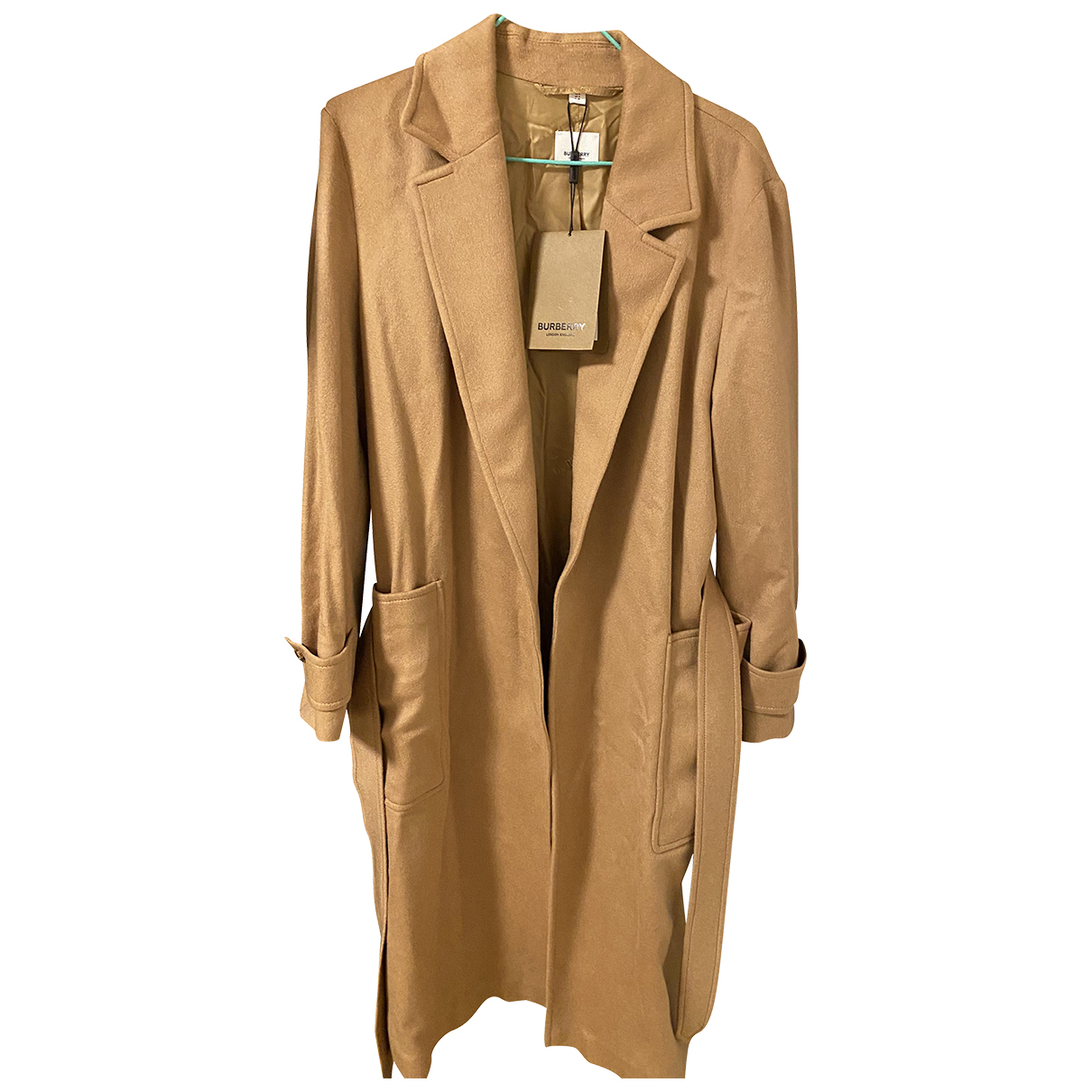 Burberry N Beige Cashmere Trench coat for Women 4 US