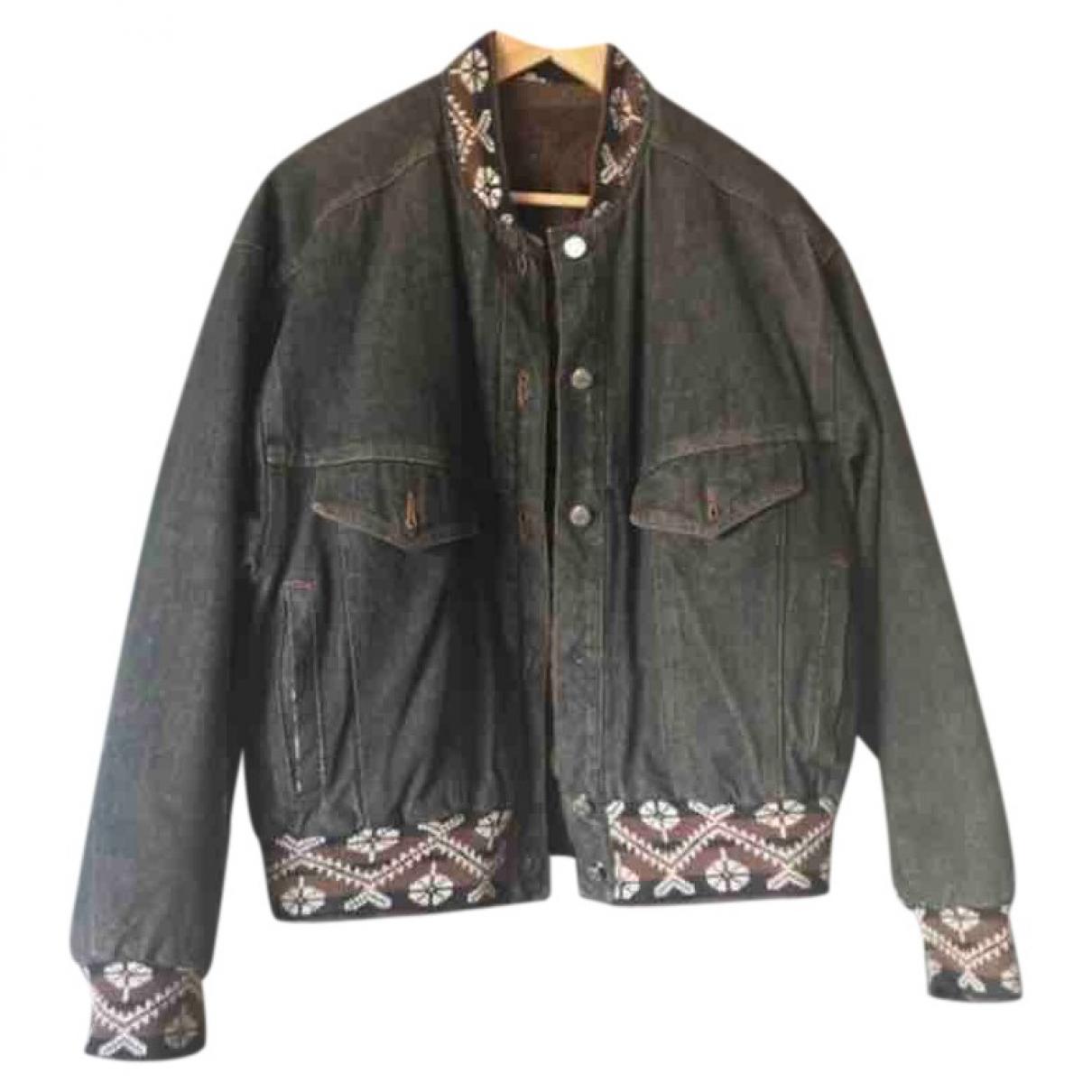 Kenzo \N Jacke in  Schwarz Denim - Jeans