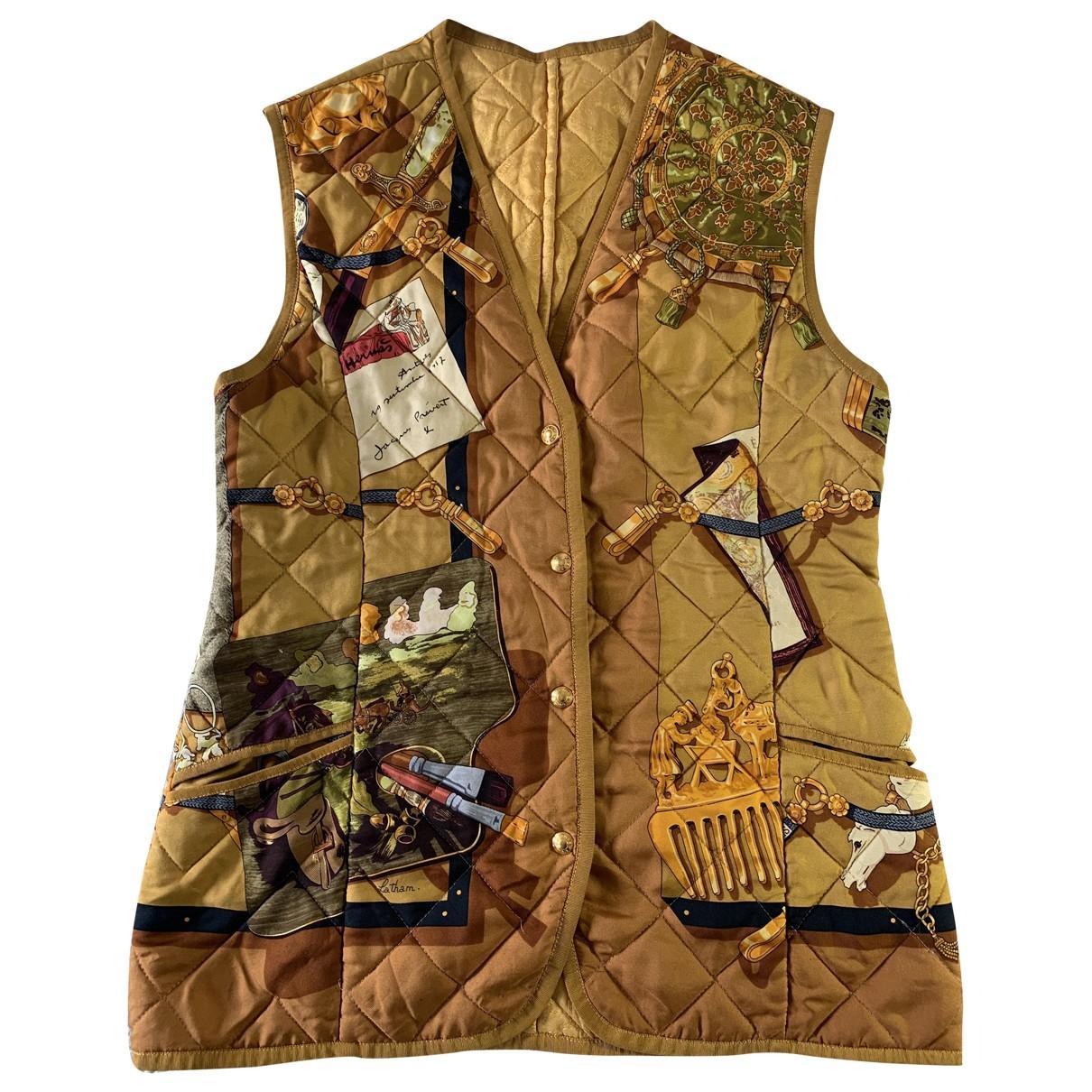 Hermes \N Pullover in  Bunt Seide