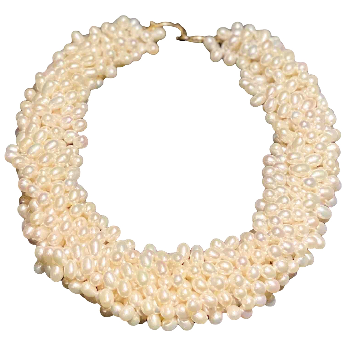 Tiffany & Co Paloma Picasso Kette in  Weiss Perlen