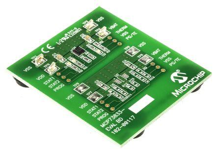 Microchip MCP73833 EVAL BRD,MCP73833EV