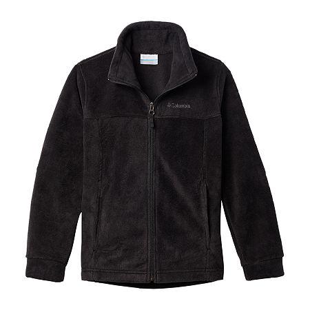 Columbia Little & Big Boys Fleece Lightweight Jacket, X-large , Black
