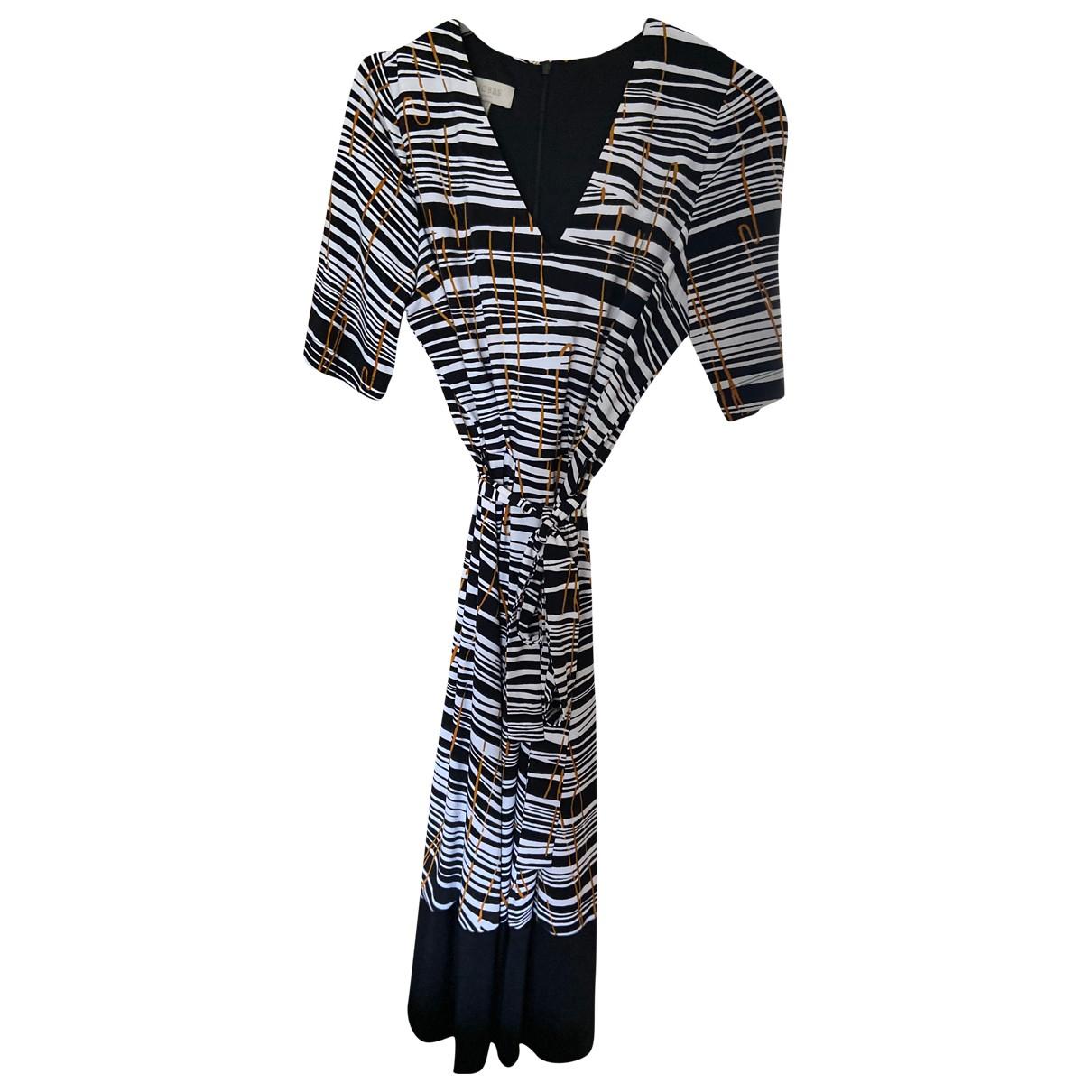 Hobbs \N Kleid in  Schwarz Polyester