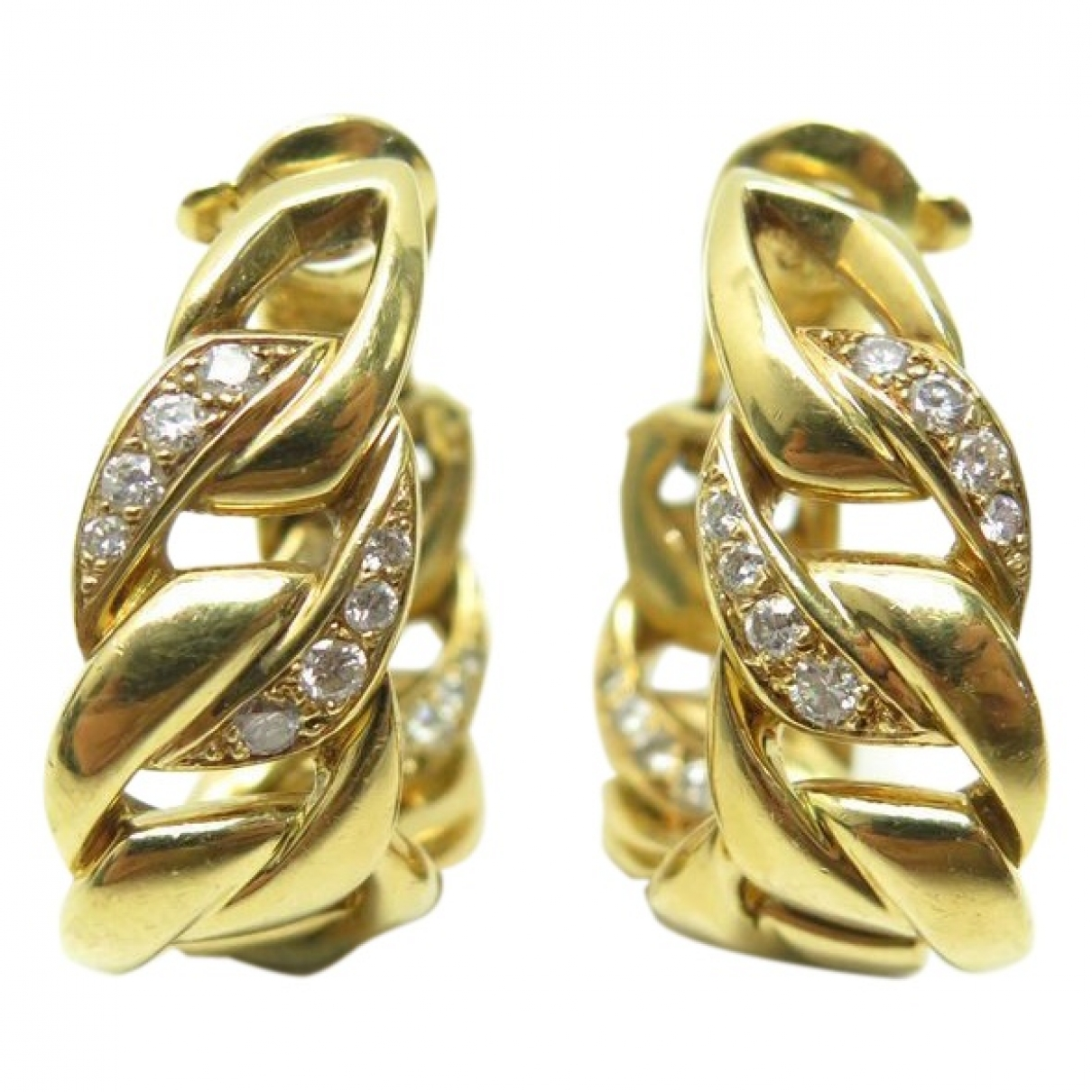 Cartier \N OhrRing in  Gold Gelbgold