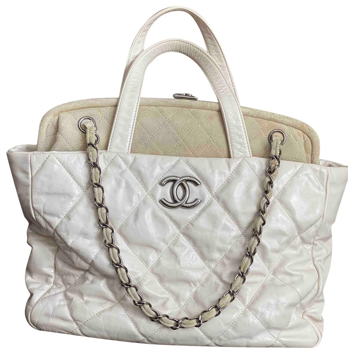 Chanel Portobello Beige Leather handbag for Women N