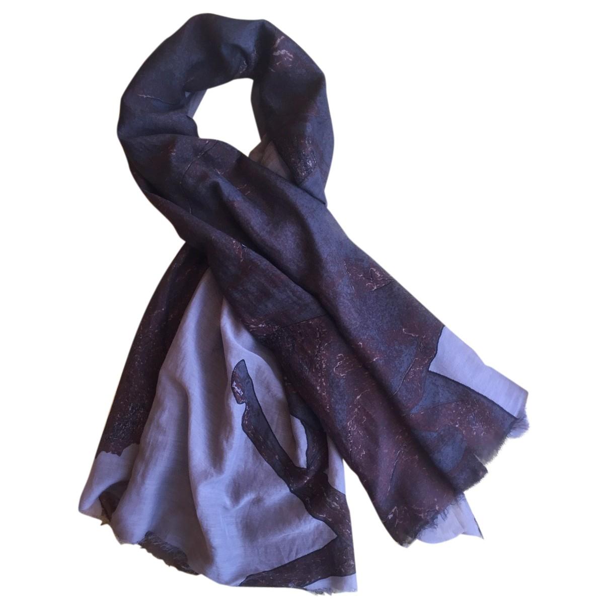 Munthe Plus Simonsen - Foulard   pour femme en soie - multicolore