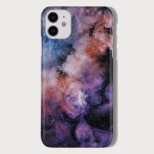 Funda de iphone con patron de nebulosa