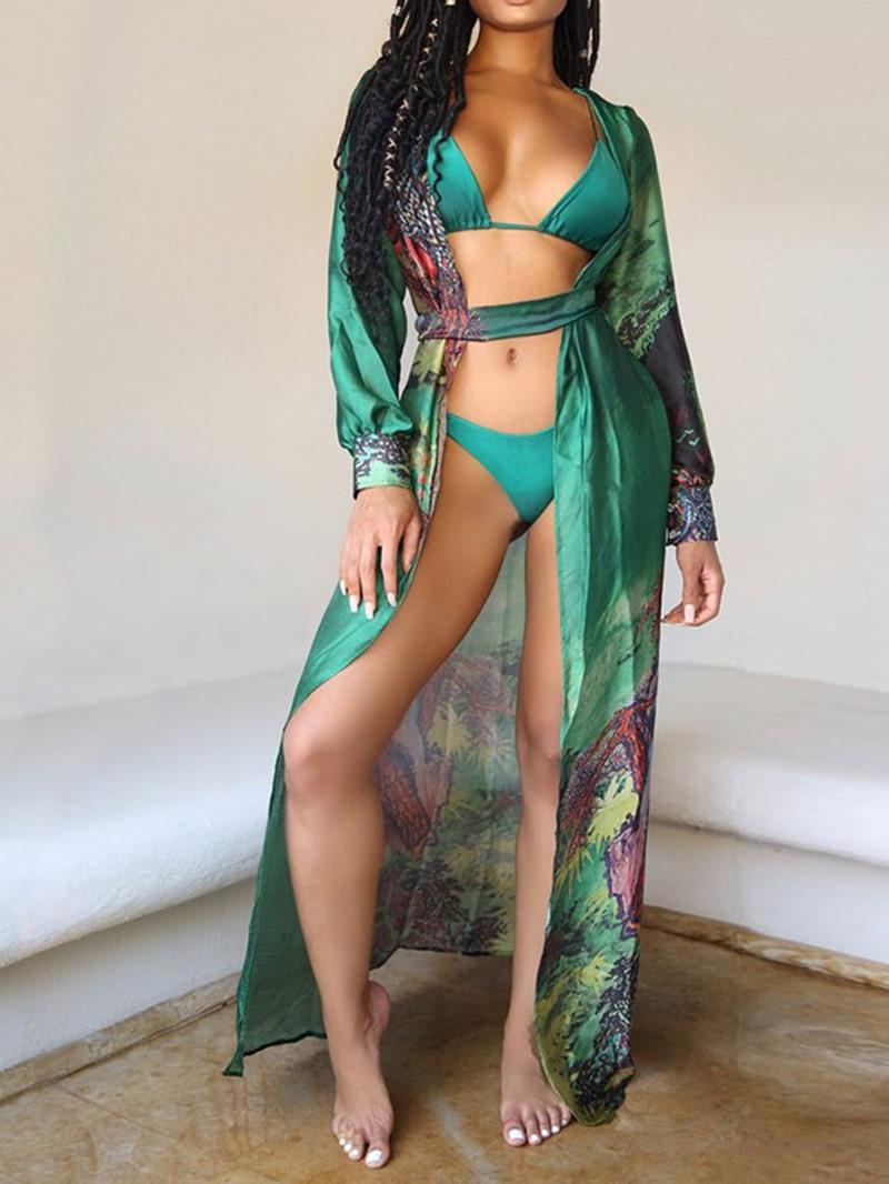 Ericdress Colorful Sexy Bikini Set Swimwear