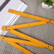 1pc Wooden Foldable Ruler