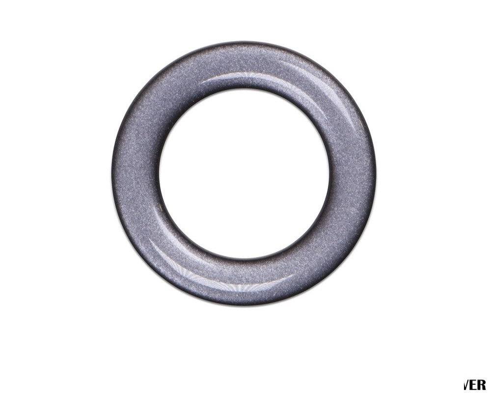 Tufskinz TUN008-CLG-G Key Ignition Accent Ring Fits 3Rd Gen Toyota Tacoma & Tundra 1 Piece Kit In Charcoal Silver