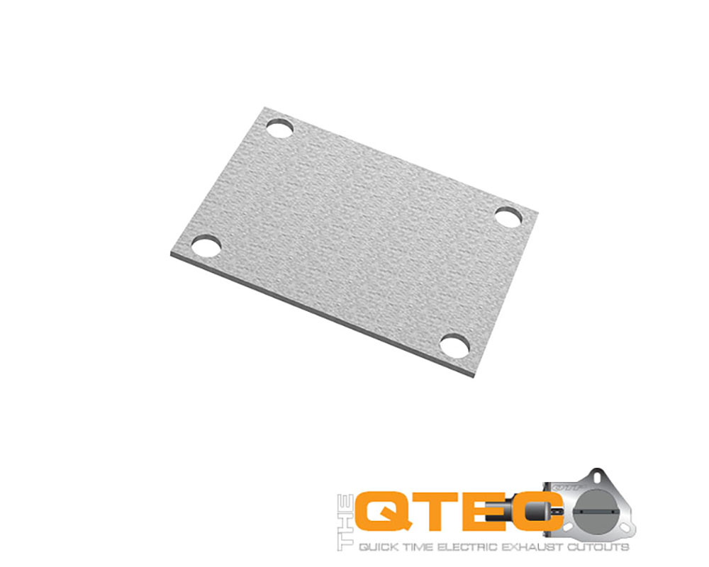 Low Profile Oval 4 Bolt Cover Plate Quick Time Performance 10338C