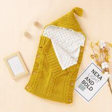 Body jersey para bebe Boton Liso Casual