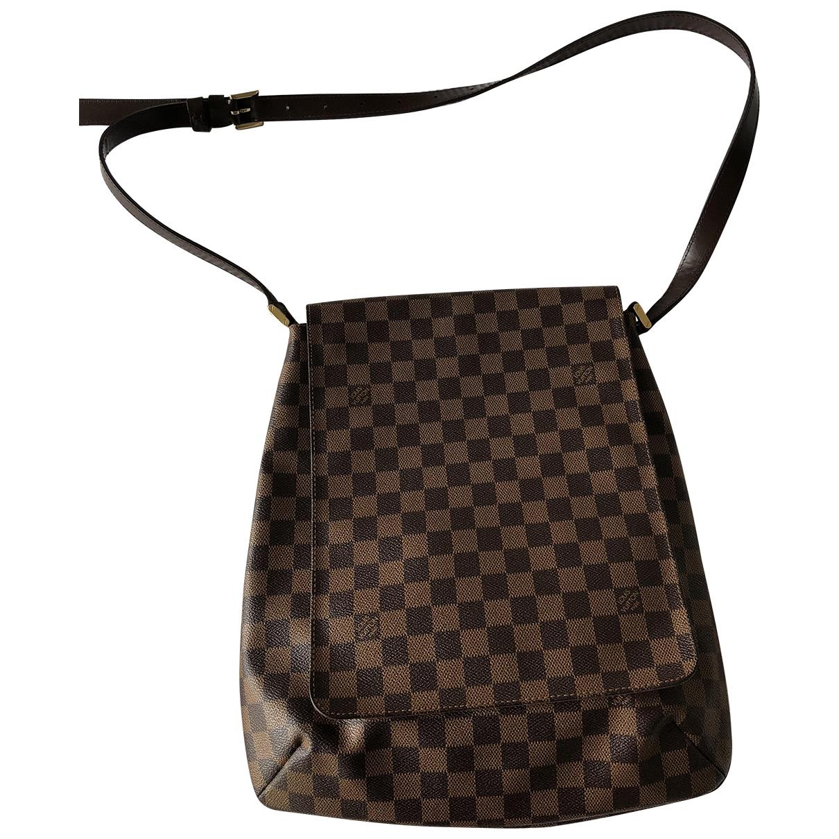 Louis Vuitton Salsa Brown Cloth handbag for Women \N