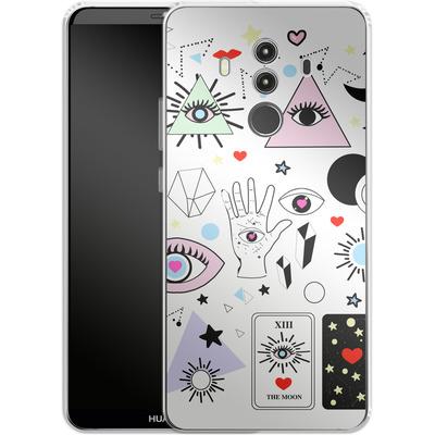 Huawei Mate 10 Pro Silikon Handyhuelle - Evil Eye von Mukta Lata Barua
