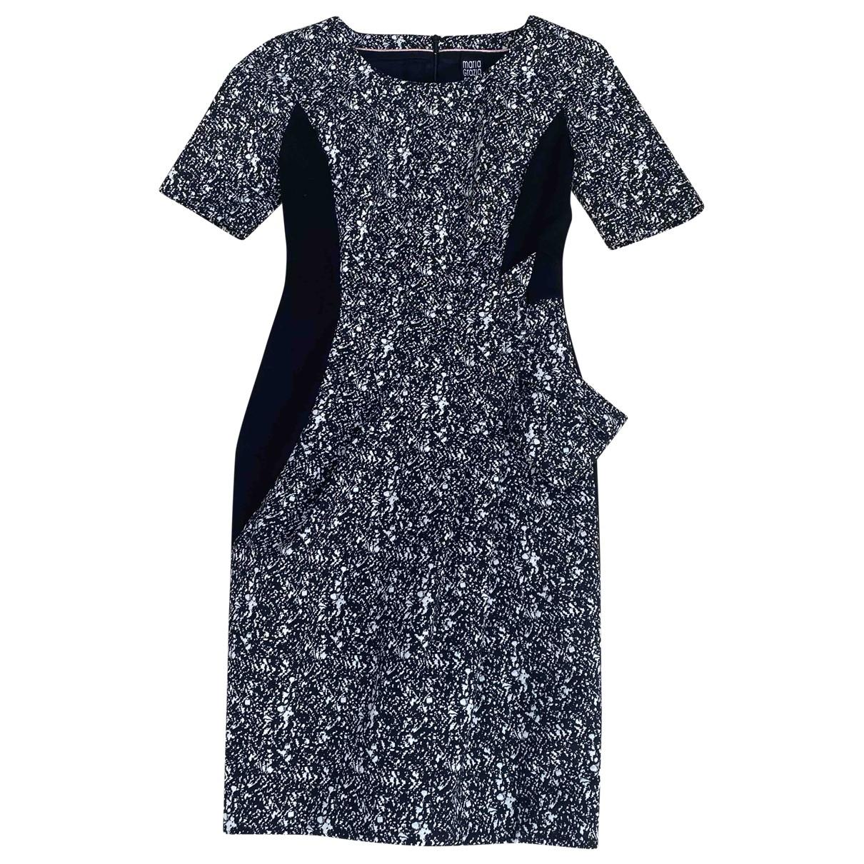 Maria Grazia Severi \N Kleid in  Schwarz Polyester