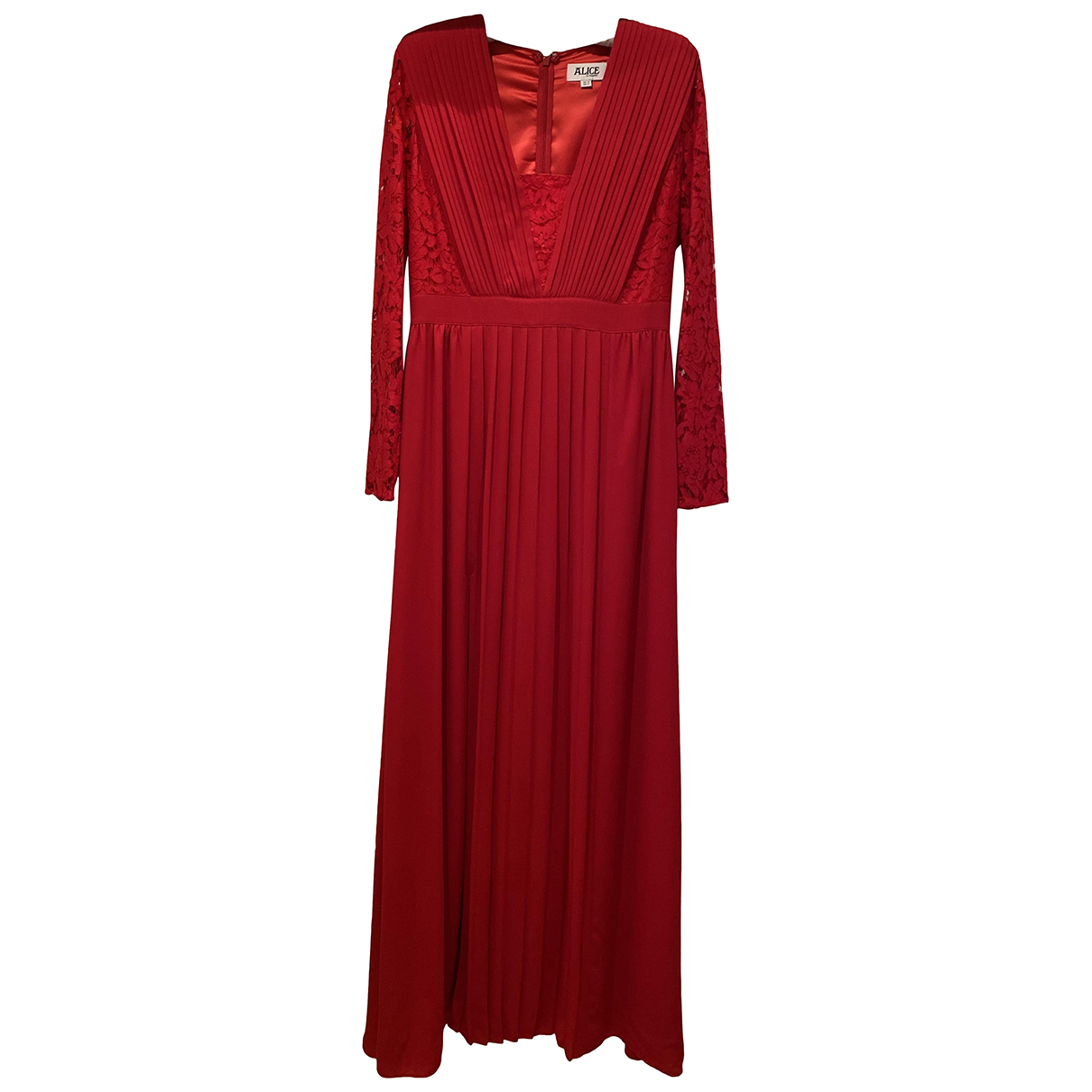 Alice By Temperley \N Kleid in  Rot Polyester