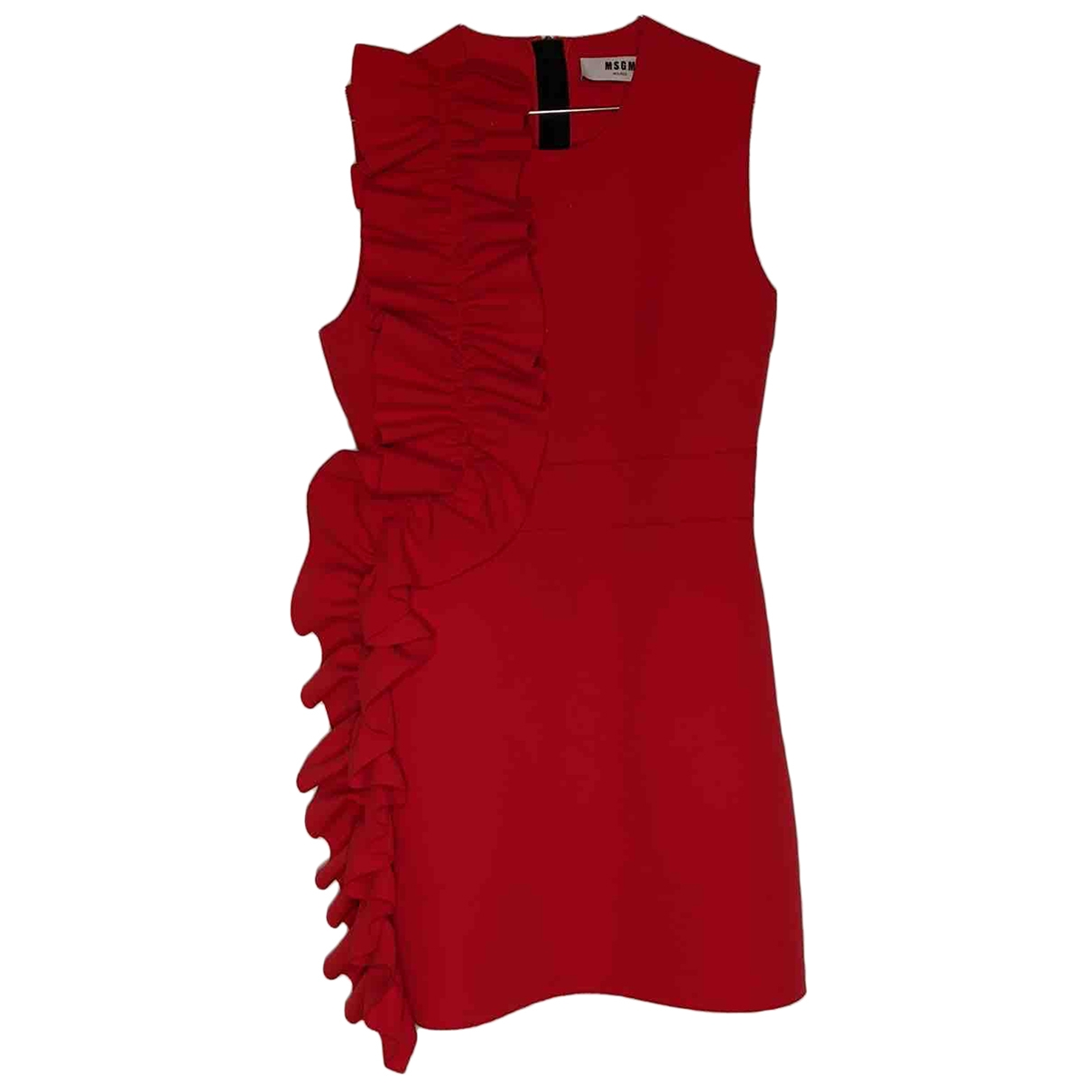 Msgm \N Kleid in  Rot Polyester