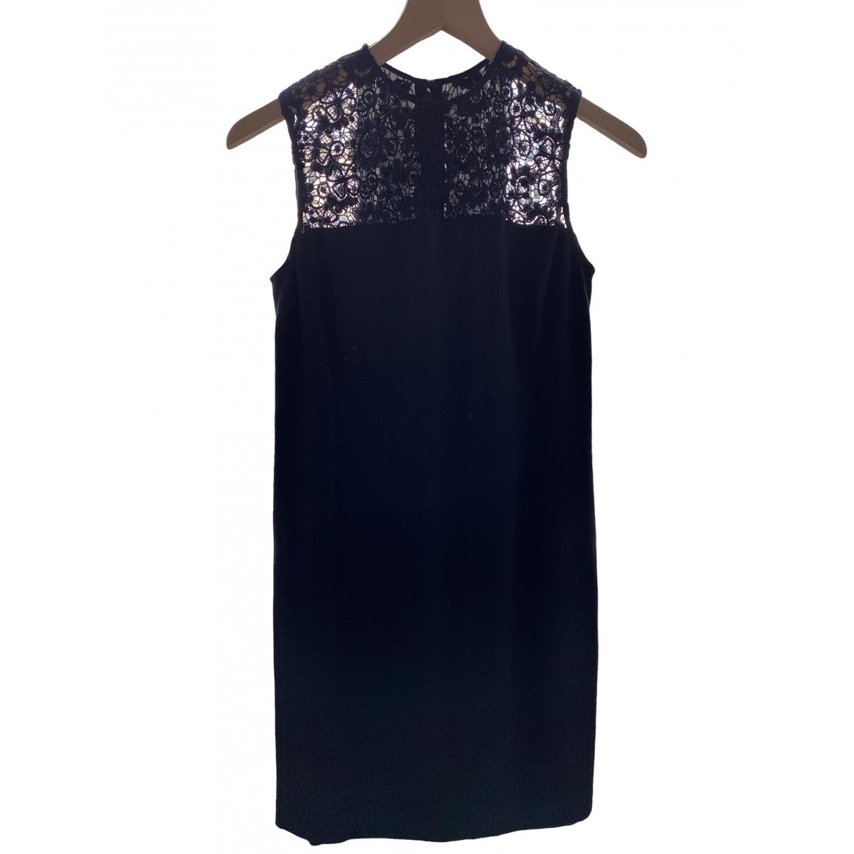 Lauren Ralph Lauren \N Kleid in  Schwarz Baumwolle - Elasthan