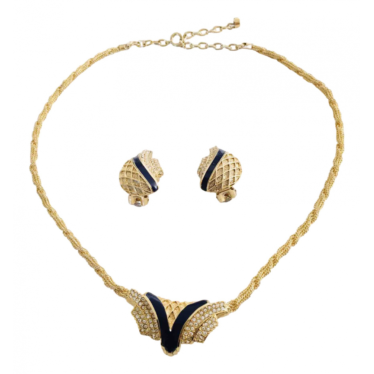 Balenciaga \N Schmuck-set in  Gold Metall