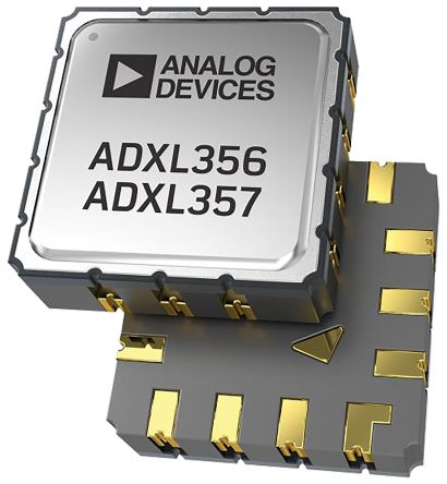 Analog Devices ADXL356BEZ , 3-Axis Accelerometer, I2C, SPI, 14-Pin LCC (8)