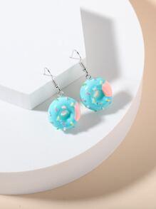 Donuts Charm Drop Earrings