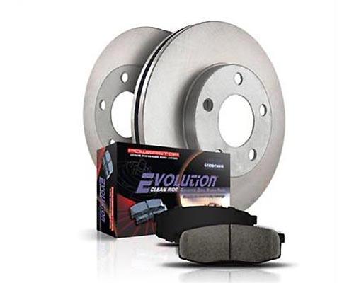 Power Stop KOE1870 OE Replacement Brake Kit Front & Rear KOE1870