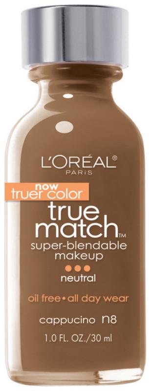 True Match Super-Blendable Foundation Makeup - Cappuccino