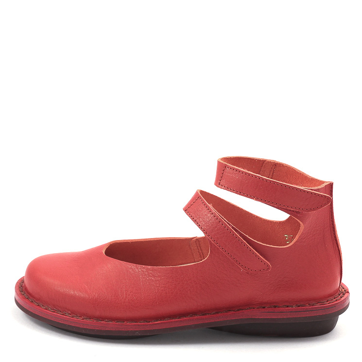 Trippen, Vision f Closed Women's Slip-on Shoes, red Größe 41
