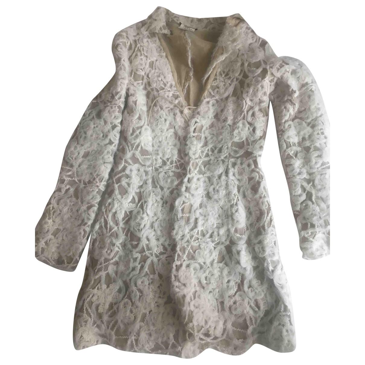 - Manteau   pour femme - ecru