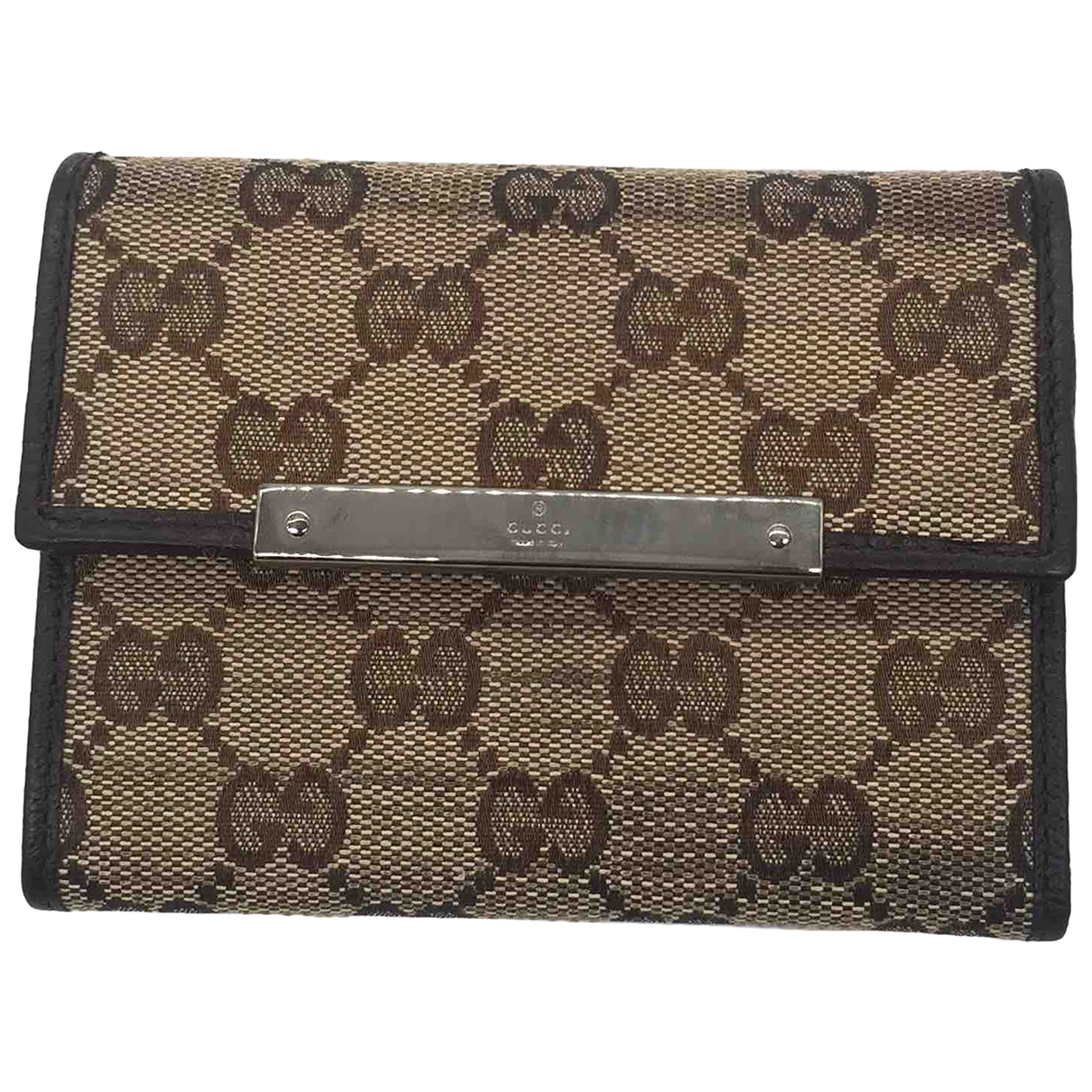 Gucci \N Wool Small bag, wallet & cases for Men \N