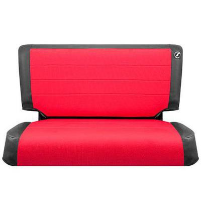 Corbeau Rear Seat Cover (Black/Red) - 82017