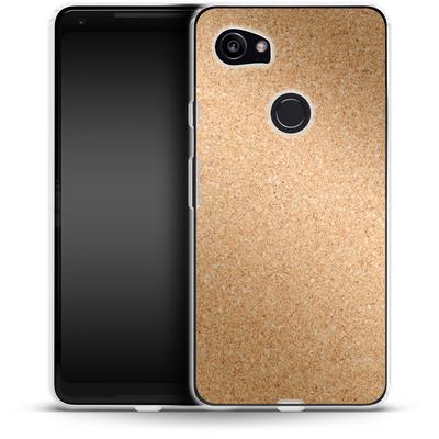 Google Pixel 2 XL Silikon Handyhuelle - Cork von caseable Designs