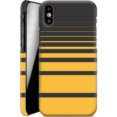 Apple iPhone X Smartphone Huelle - Yellow Retro von SONY