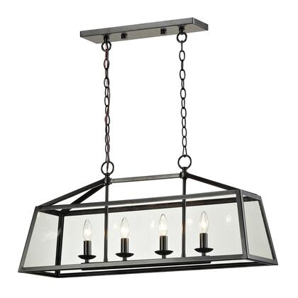 31508/4 Alanna Collection 4 Light Pendant in Oil Rubbed